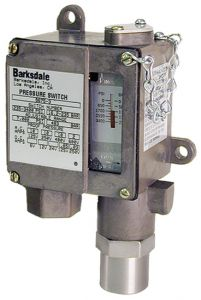 Barksdale Piston Style Pressure Switch 75-540psi 9675-1-V