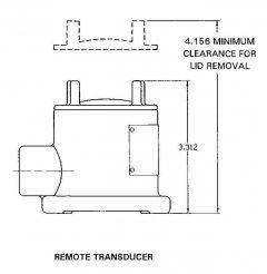 Robertshaw Schneider 904GC337 Explosion-Proof Vibration Sensor