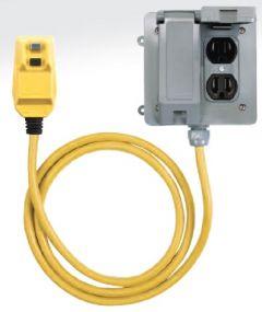 TRC Southwire GFCI, 15 Amps Manual Reset, 4-6mA, Quad Box, 14880-450